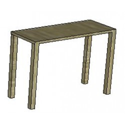 8523 - Table Emballage Stratifie