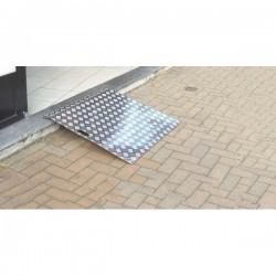 Rampe d'accès enroulable en aluminium
